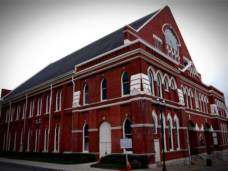 The Ryman Auditorium: Tennessee