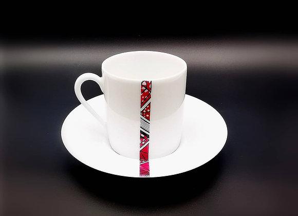 Tasse + Soucoupe Café - Collection Aïda