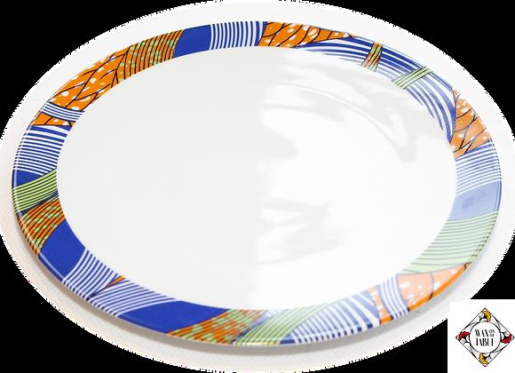 Assiette plate ADDUNA