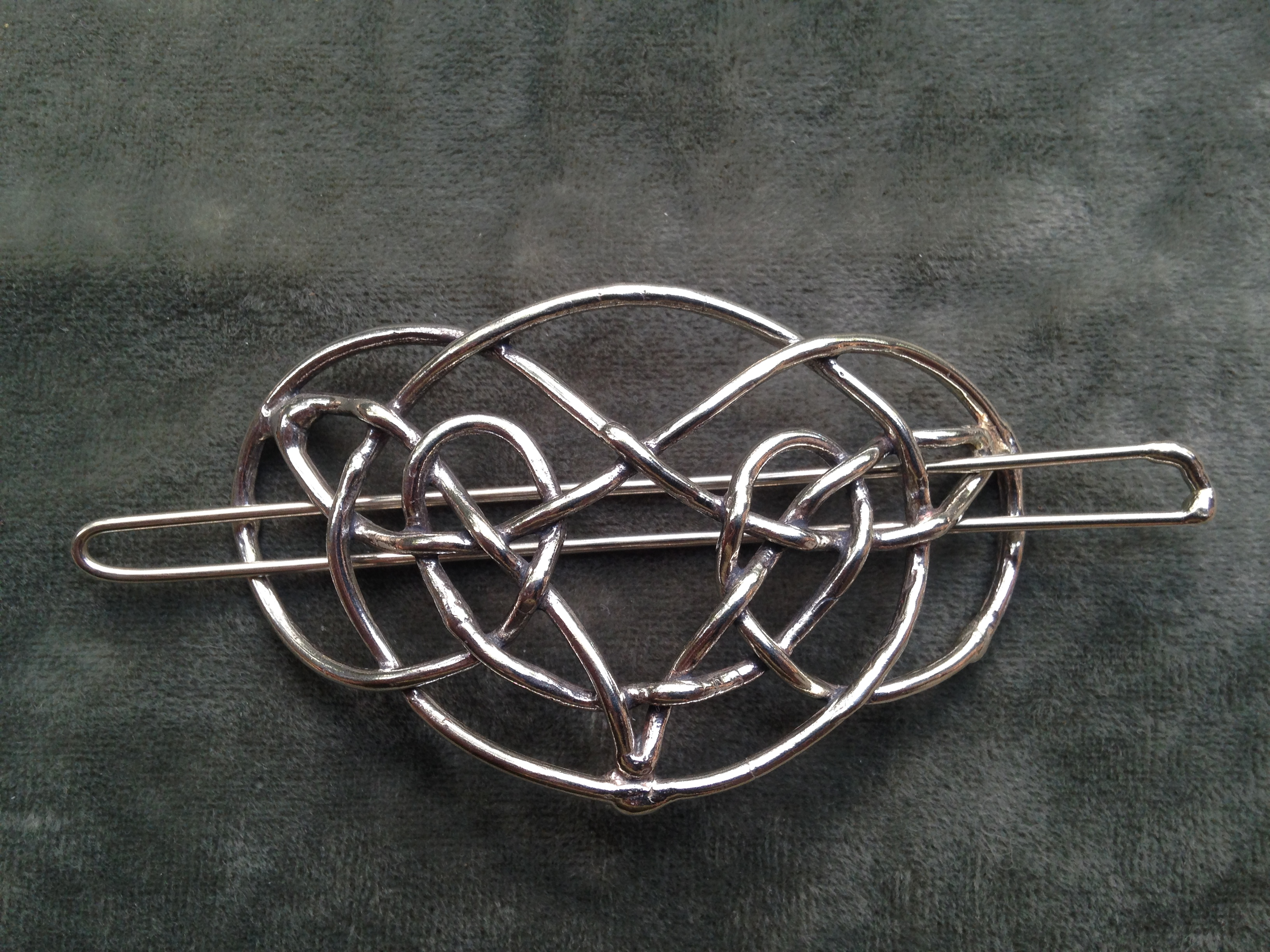 Celtic Knot Barrette