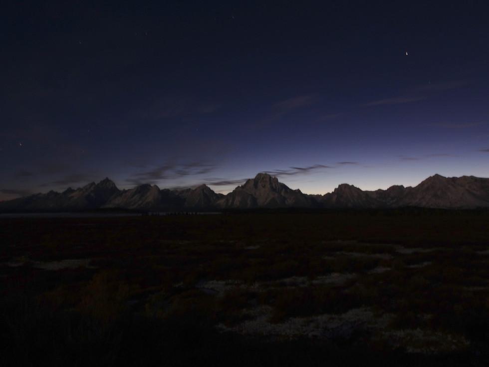 Tetons at Night (1 of 1)