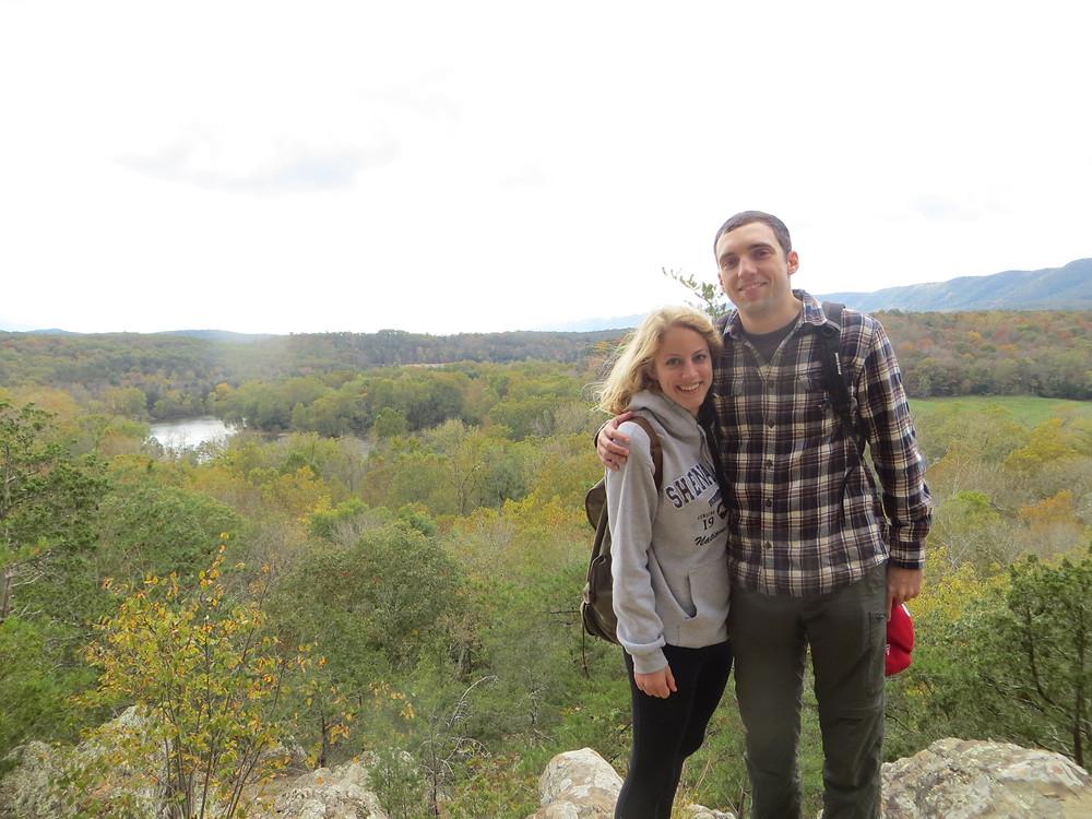 Shane and me at Shenandoah, Virginia