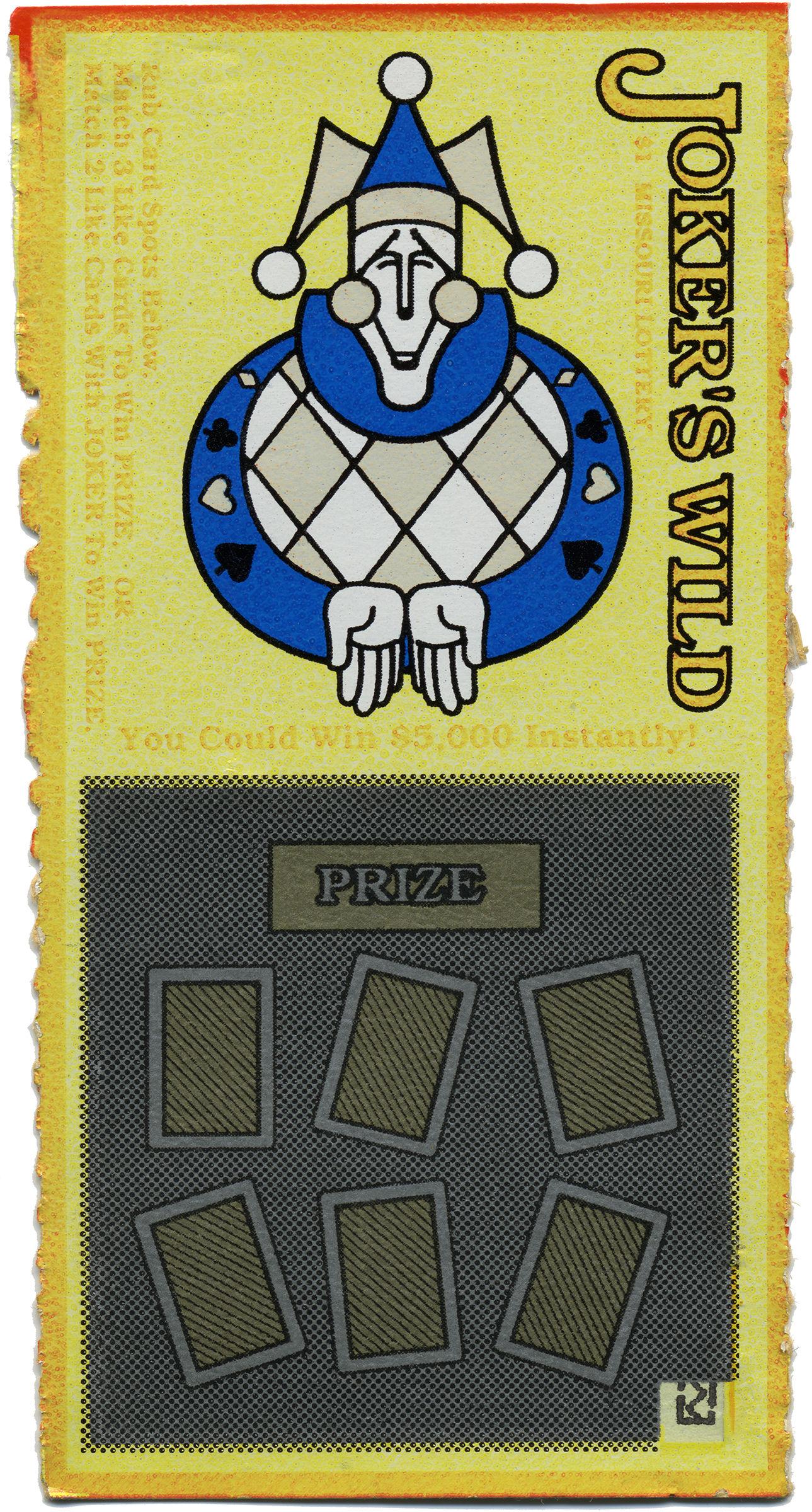 Lottery Ticket - Missouri 1990s