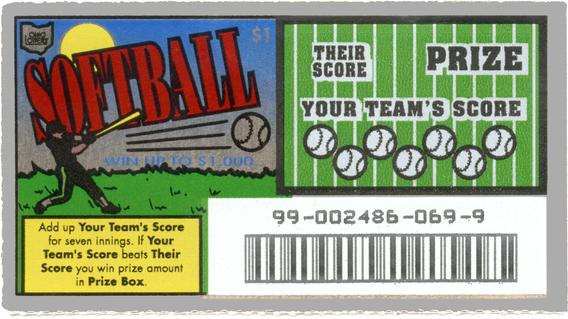 Lottery Ticket - Ohio 1970s