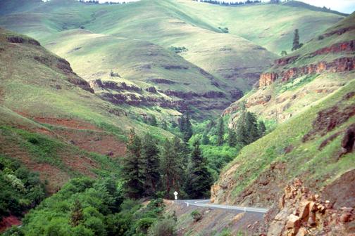 Washington Oregon Border