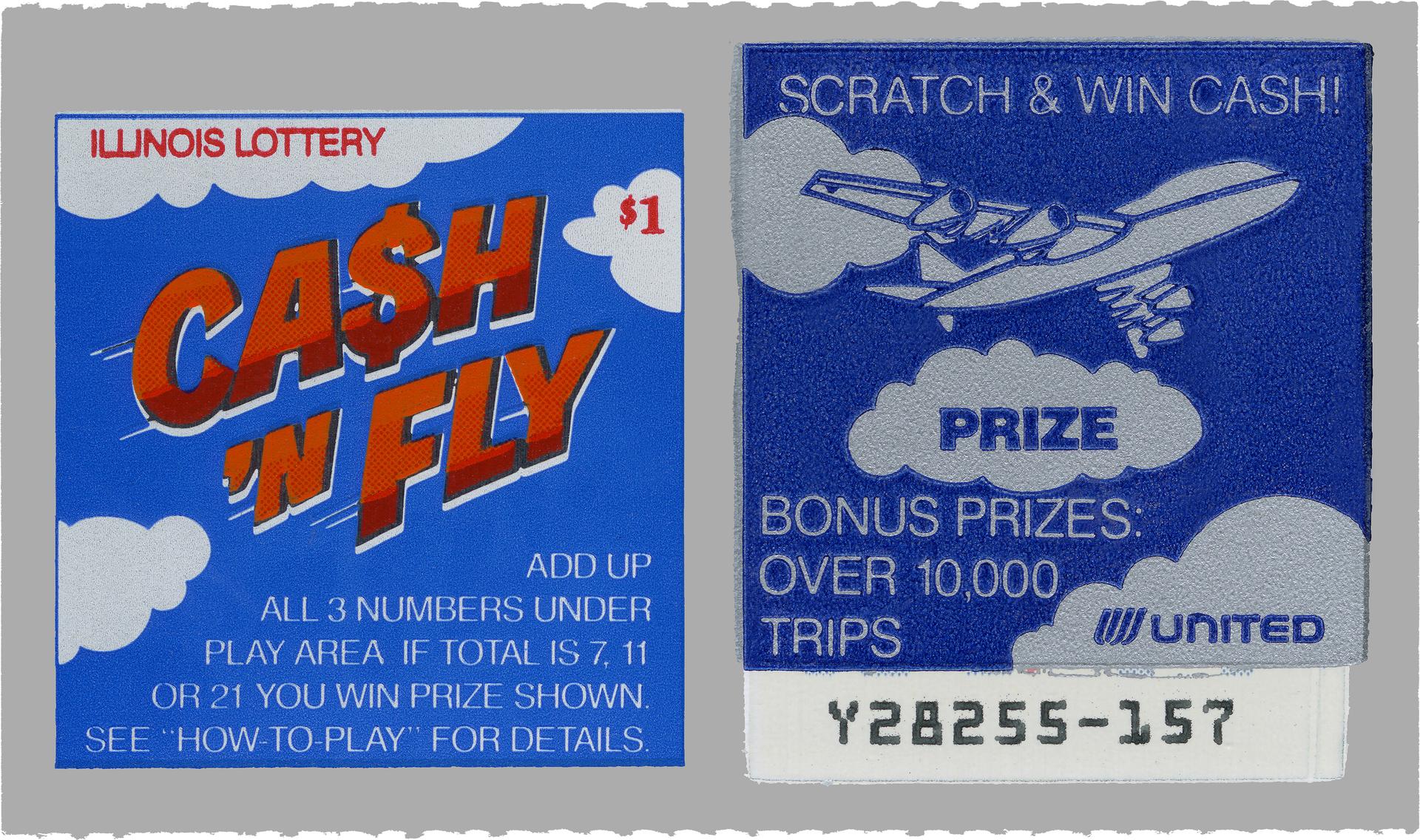 Lottery Ticket - Illinois 1990s