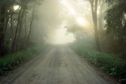 East Bound Morning Fog