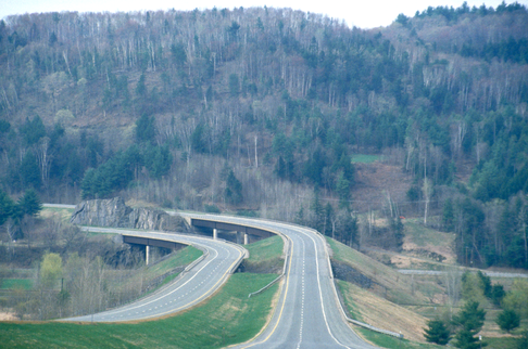 Freeway in Vermont