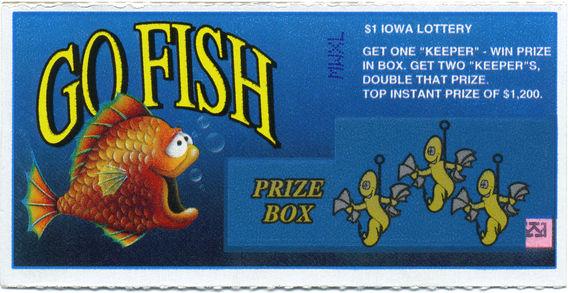 Lottery Ticket - Iowa 1990s