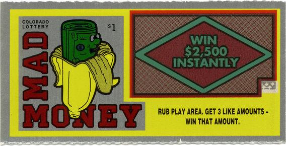 Lottery Ticket - Colorado 1974
