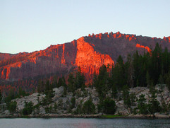 Thunder Mountain Sunset