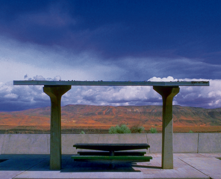 Rest Area Picnic Table