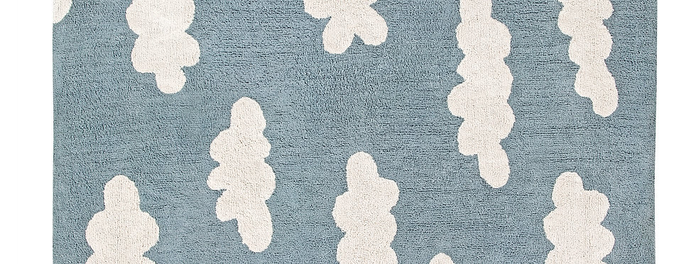 Lorena Canals | Clouds - Vintage Blue