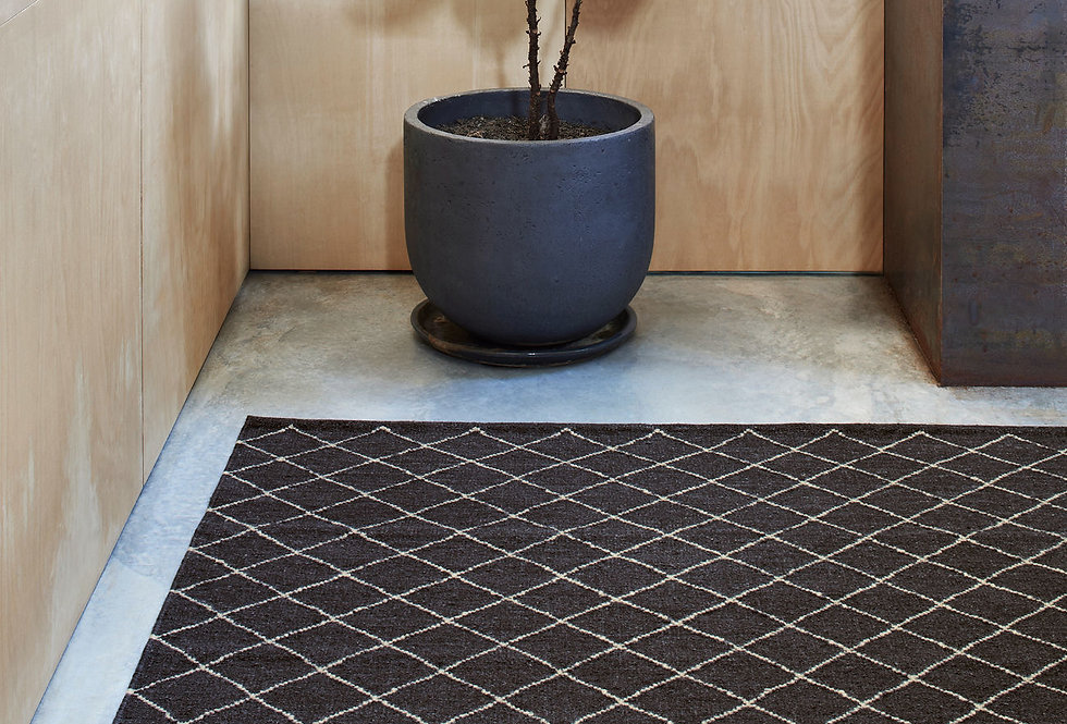 Earth Collection | Twine Weave - Charcoal & Limestone