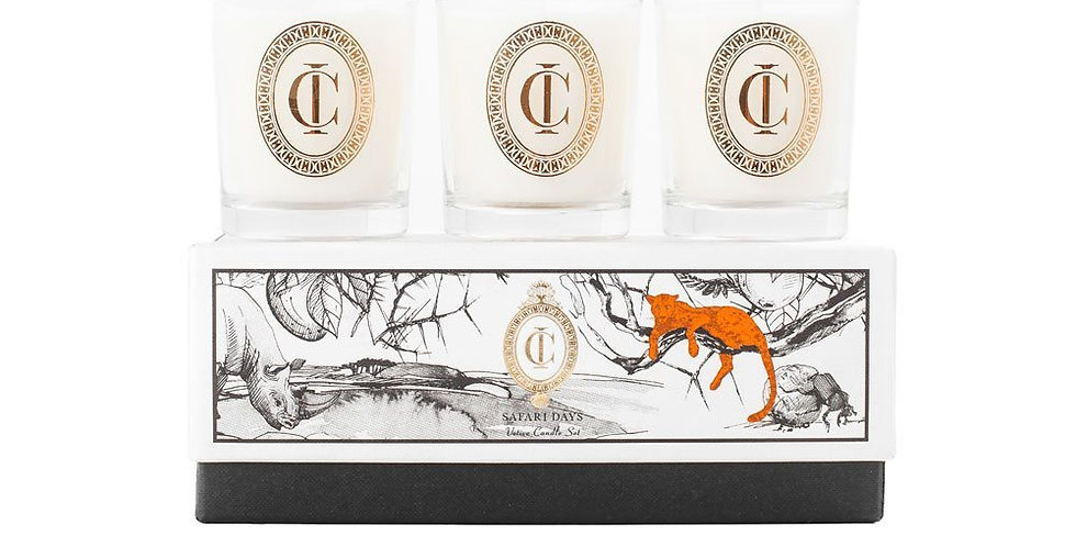 Cape Island | Safari Days - Votive Set