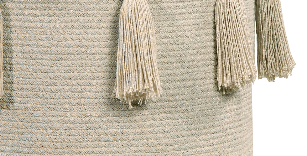 Lorena Canals | Tassels Basket - Natural
