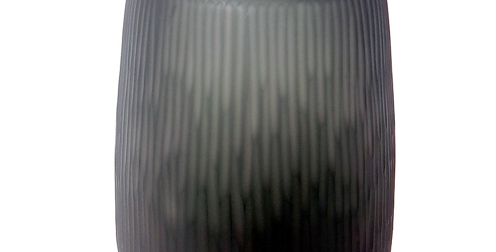 Grey Cut Tall Vase