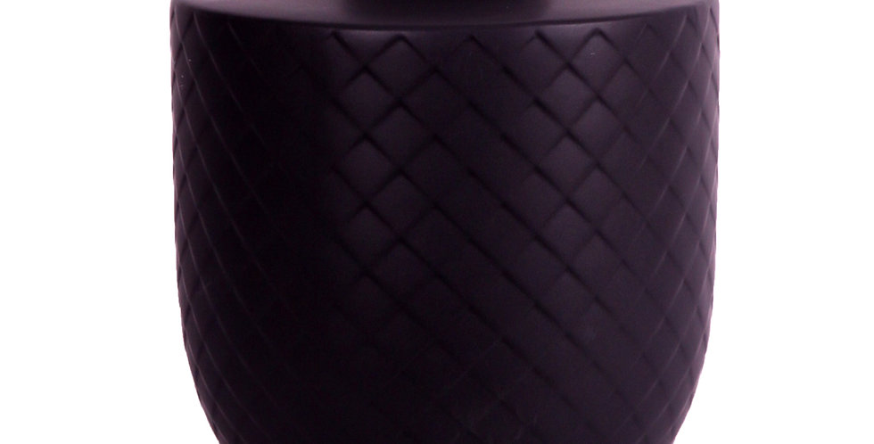 Velveteen Black Vase