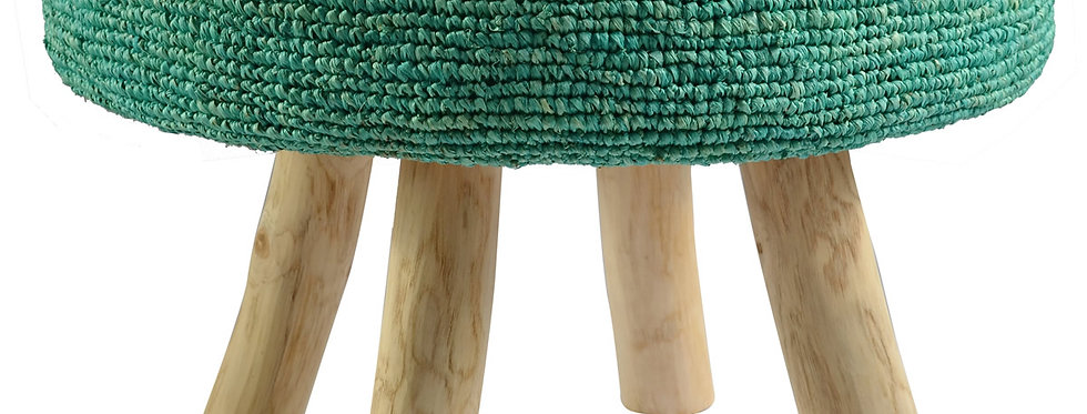 Ganesh Stool | Sea Green
