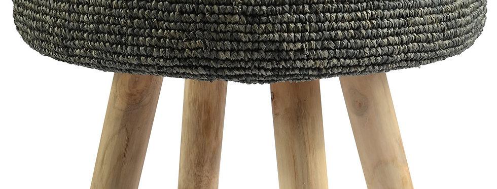 Ganesh Stool | Charcoal