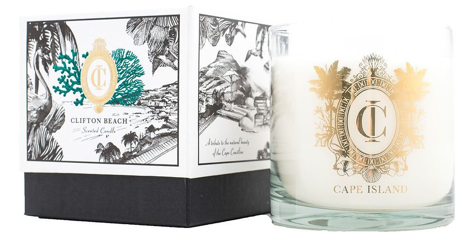 Cape Island | Clifton Beach - Large Candle