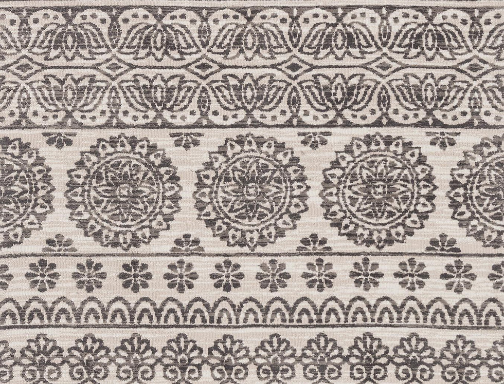 Lotus   Antique Ivory - Mink