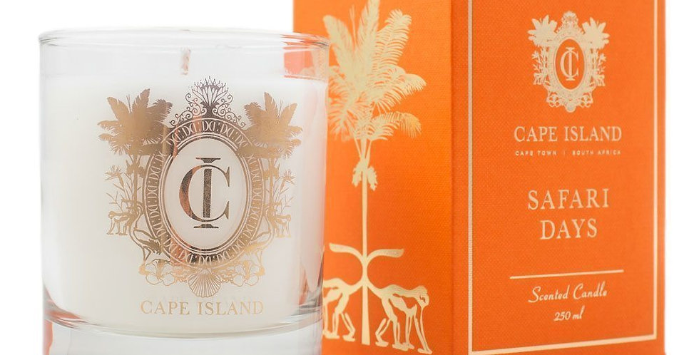 Cape Island | Safari Days - Medium Candle