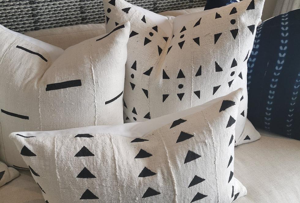 Mudcloth Pillow | Arrows