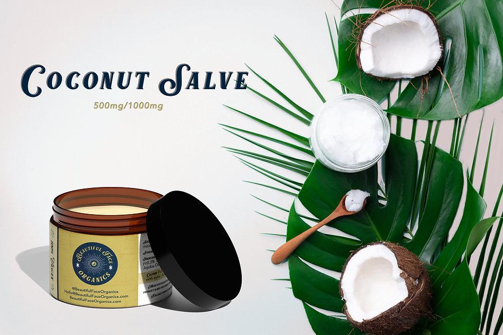 CBD Coconut Salve