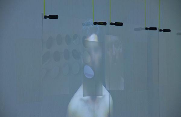 Instalación audiovisual, deseo homosexual, arte contemporaneo, art