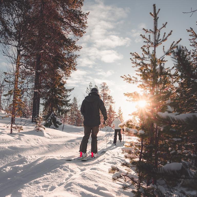 Cross Country Ski trip Banff Canada and Calgary