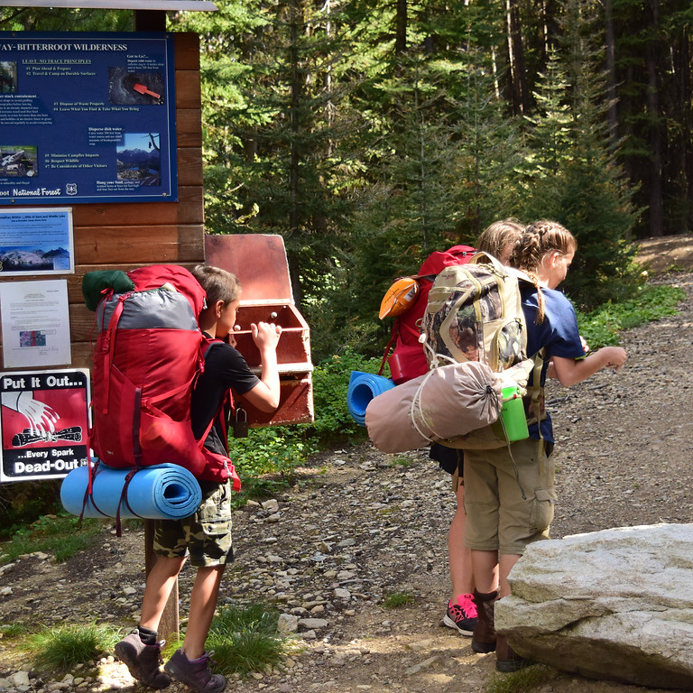 Mother/Daughter Backpacking Trip