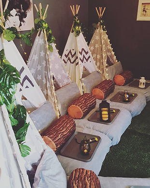 Moon & Star Events Teepee Glamover