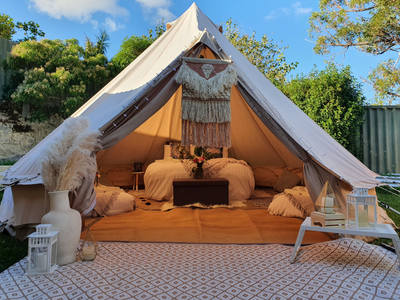Backyard Glamping Moon & Star Events