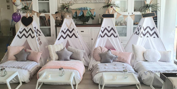 Moon & Star Events Boho Teepee Sleepover