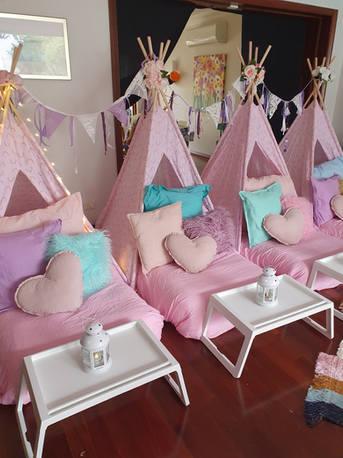 Pink & Aqua Casual Teepee