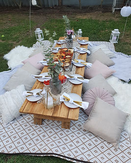 Moon & Star events Full glam picnic