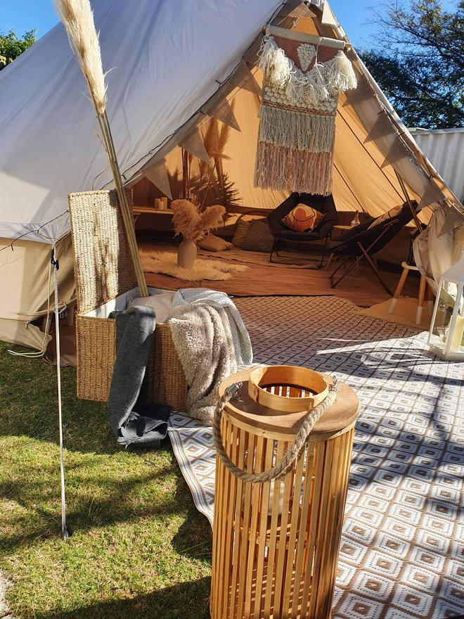 Boho Party Tent