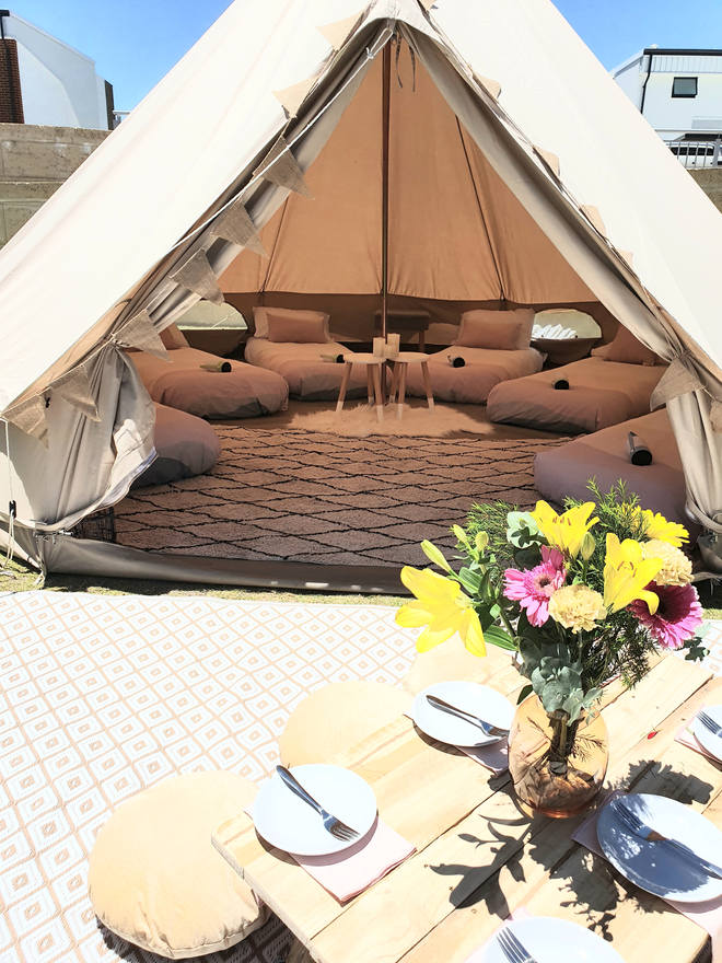 Overnight Glamping with Picnic
