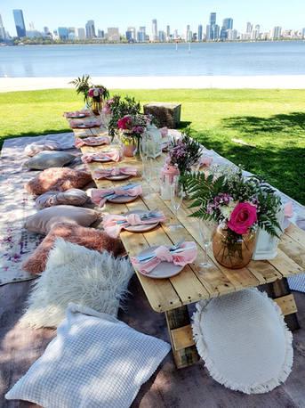 Full Glam picnic Pink