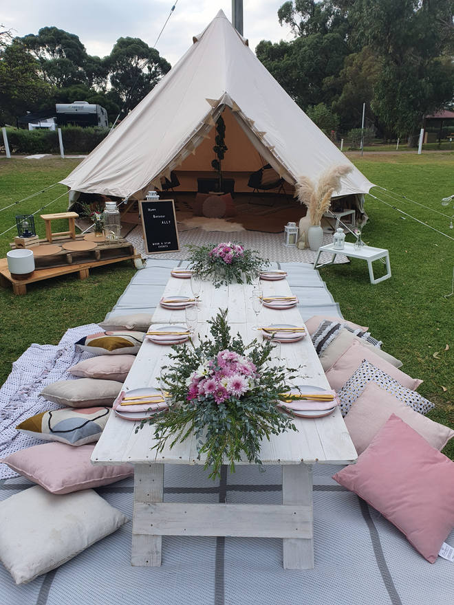 Bell Tent Hire Perth Moon & Star Events