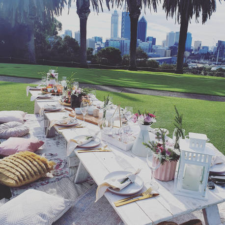 Full Glam Picnic Moon & Star Events