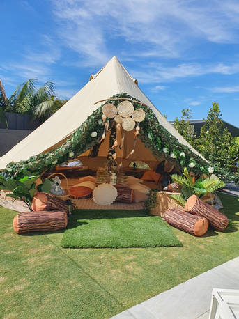 Bell Tent Woodland THeme