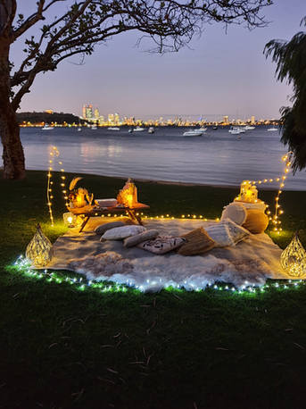 Moon & Star Romantic Picnic