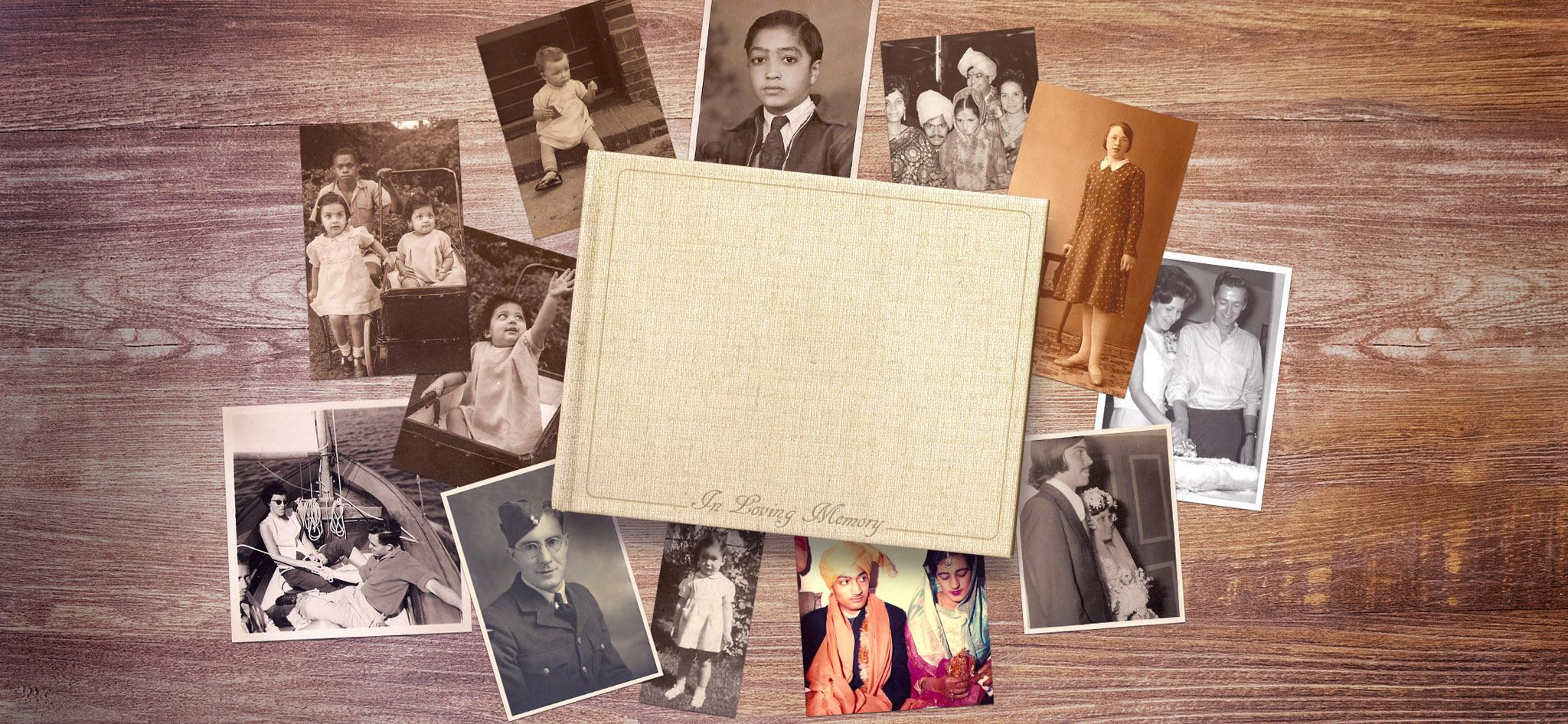 Photo Book Design Memorial