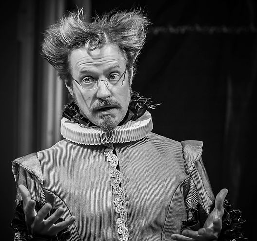 Jon Barker, Dr. Caius, The Merry Wives of Windsor, The Shakespeare Theatre of NJ