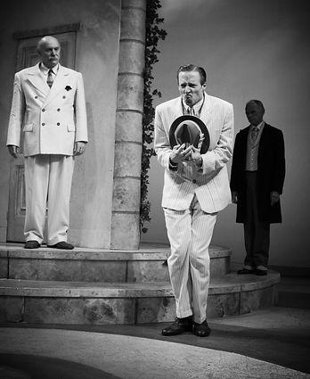 Jon Barker, Tranio, The Taming of the Shrew, The Shakespeare Theatre of NJ