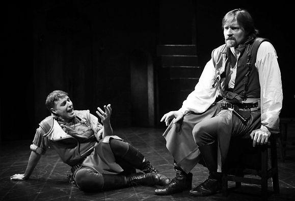 Jon Barker, Cassio, Othello, The Shakespeare Theatre of NJ