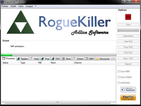 Désinfecter Windows des spywares, malwares et injecteurs publicitaires