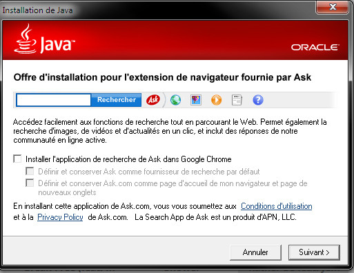 java ask